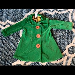 EUC persnickety coat 3T